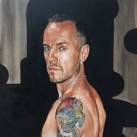 Artwork - Nude portrait of Gerald