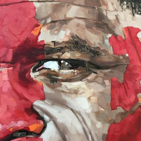 Artwork detail view - Portrait of Oliver Tambo