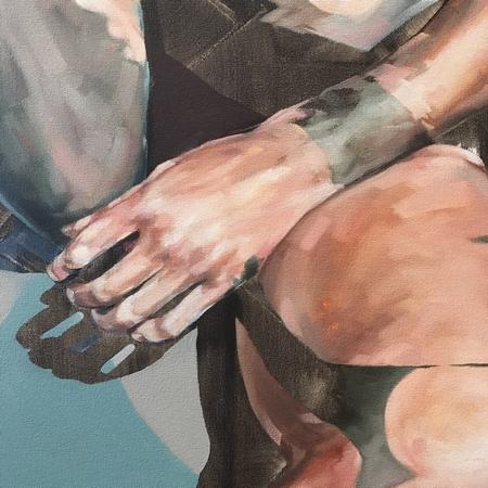 Artwork detail view - Two boys, Tuesday afternoon