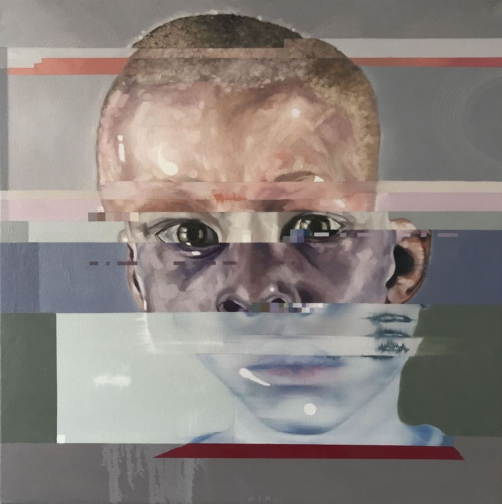 Full view of Corné Eksteen's Artwork: Child Interrupted II
