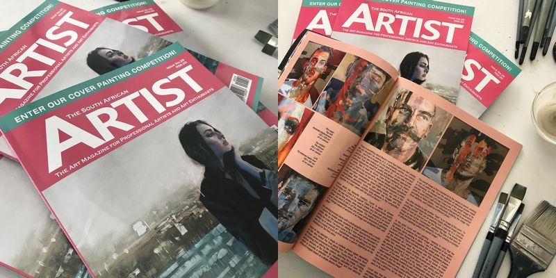 Featured artist The South African Artist Magazine